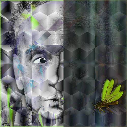 Dieter Bruhns, Insectophobia, Abstraktes, Abstrakte Kunst, Abstrakter Expressionismus