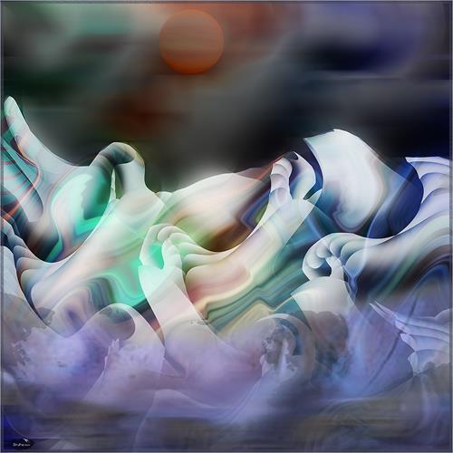 Dieter Bruhns, Poor Horizon, Abstraktes, Abstrakte Kunst
