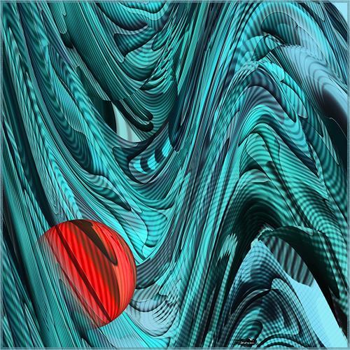 Dieter Bruhns, Foreign, Abstraktes, Abstrakte Kunst