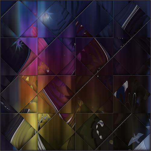 Dieter Bruhns, Squares and Triangles, Abstraktes, Abstrakte Kunst