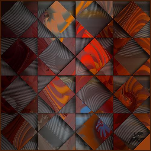 Dieter Bruhns, Cloudy Background, Abstraktes, Abstrakte Kunst