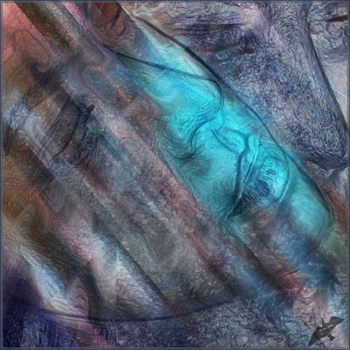 Dieter Bruhns, Sad Motif, Abstraktes, Abstrakte Kunst