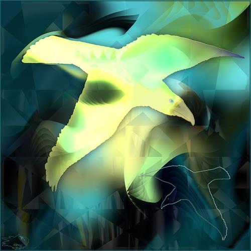 Dieter Bruhns, Color Glider, Abstraktes, Abstrakte Kunst