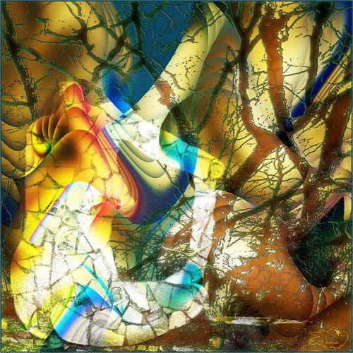 Dieter Bruhns, Pole Position, Abstraktes, Abstrakte Kunst