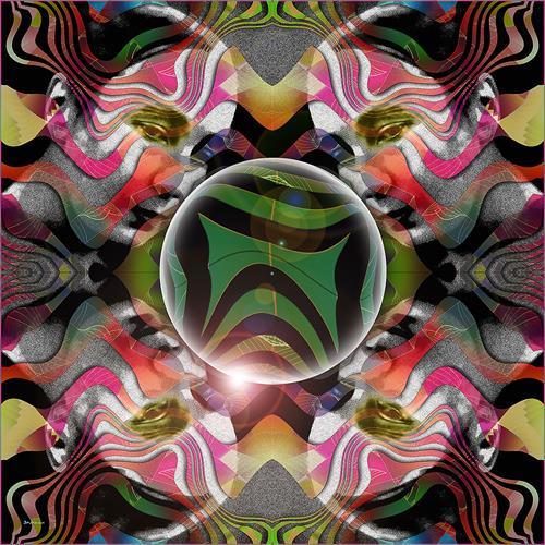 Dieter Bruhns, Four Times Around a Sphere, Abstraktes, Abstrakte Kunst
