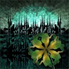 Dieter Bruhns, Spiky Town's Sunset, Abstraktes, Abstrakte Kunst