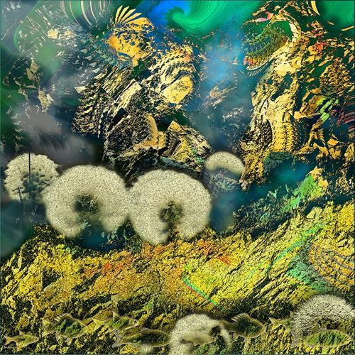 Dieter Bruhns, Under Water, Abstraktes, Abstrakte Kunst, Abstrakter Expressionismus