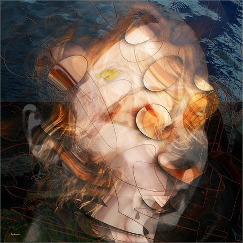 Dieter Bruhns, Isabell, Abstraktes, Abstrakte Kunst, Abstrakter Expressionismus