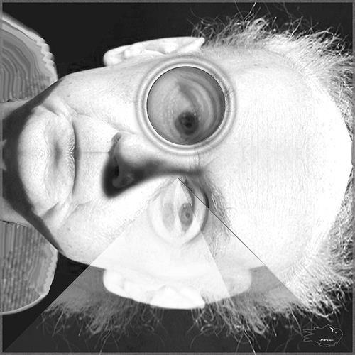 Dieter Bruhns, Pyramidal Effect, Abstraktes, Abstrakte Kunst
