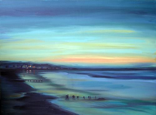 Diana Krasselt, Himmel & Erde, Gefühle: Geborgenheit, Landschaft: See/Meer