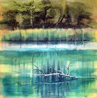Diana-Krasselt-Landschaft-Fruehling-Natur-Wasser-Moderne-Moderne