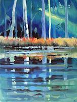 Diana-Krasselt-Natur-Wald-Landschaft-Sommer-Moderne-Moderne