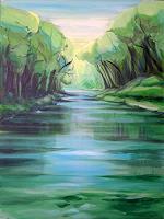 Diana-Krasselt-Natur-Wasser-Landschaft-Sommer-Moderne-Moderne
