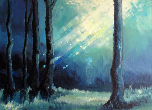 Diana Krasselt, Energie, Pflanzen: Bäume, Natur: Wald, Moderne