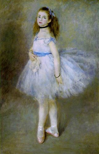 Pierre-Auguste Renoir, Danseuse, Menschen: Frau, Impressionismus