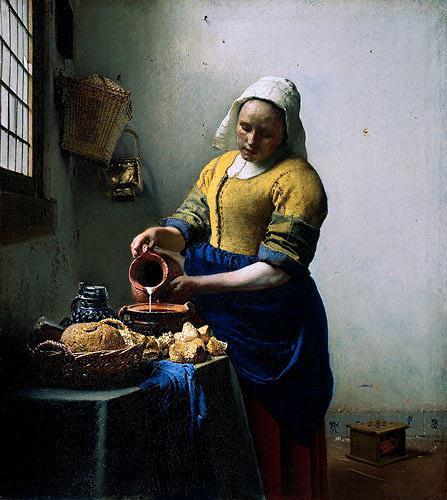 Jan Vermeer van Delft, Milchmädchen, Menschen: Frau, Arbeitswelt, Barock
