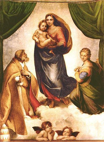 Raffael, Die Sixtinische Madonna, Religion, Renaissance