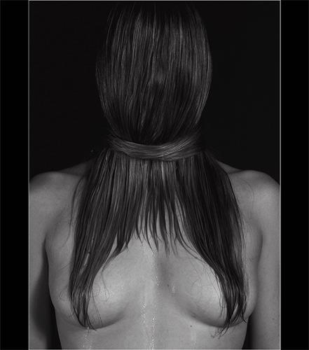 hans eder, hair, Menschen: Frau, Fantasie, Fotorealismus, Abstrakter Expressionismus