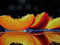 D. Moravec, Nektarinenspalten / Nectarine Slices