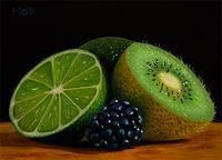 D. Moravec, Lime, Kiwi and Blackberry