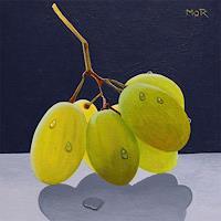 Dietrich-Moravec-Stilleben-Pflanzen-Fruechte-Neuzeit-Realismus