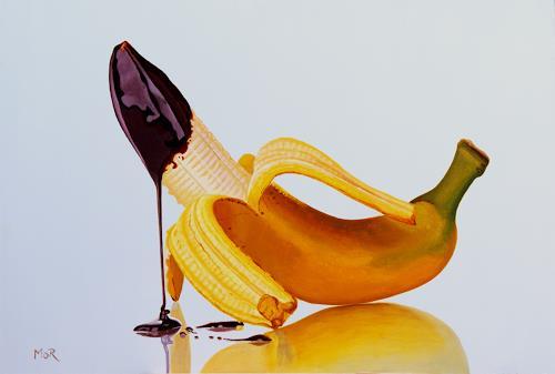 Dietrich Moravec, Chocolate Cap, Stilleben, Essen, Fotorealismus, Expressionismus