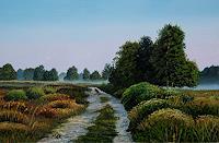 Dietrich-Moravec-Landschaft-Ebene-Landschaft-Herbst-Neuzeit-Realismus