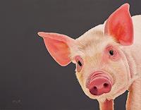 Dietrich-Moravec-Tiere-Land-Tiere-Moderne-Fotorealismus-Hyperrealismus
