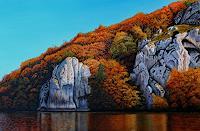 Dietrich-Moravec-Landschaft-Landschaft-Herbst-Moderne-Fotorealismus-Hyperrealismus