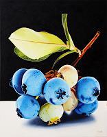 Dietrich-Moravec-Pflanzen-Fruechte-Stilleben-Moderne-Fotorealismus-Hyperrealismus