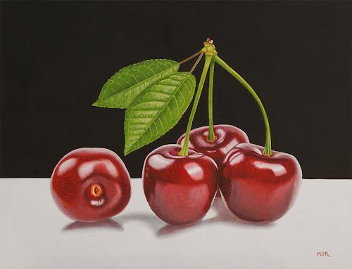 Dietrich Moravec, The Outcast, Pflanzen: Früchte, Stilleben, Fotorealismus, Expressionismus