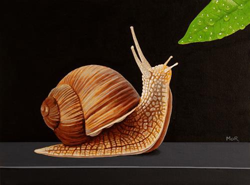 Dietrich Moravec, Object of Desire, Tiere: Land, Stilleben, Fotorealismus, Expressionismus