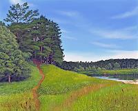 Dietrich-Moravec-Landschaft-Landschaft-Huegel-Moderne-Fotorealismus