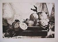 Dietrich-Moravec-Stilleben-Pflanzen-Fruechte-Moderne-Naturalismus