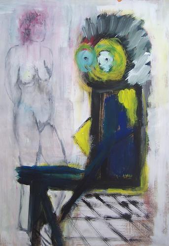 Petra Tränkner, Augen auf, Abstraktes