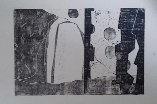 Petra Tränkner, Variationen 2, Abstraktes, Abstrakte Kunst