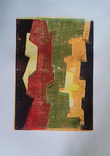 Petra Tränkner, 0.T, Abstraktes, Abstrakte Kunst