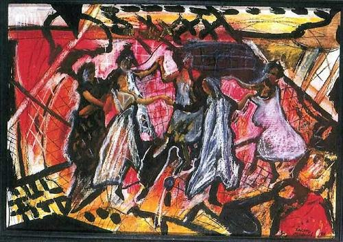 Michael Thomas Sachs, Der Tanz, Dekoratives, Konkrete Kunst