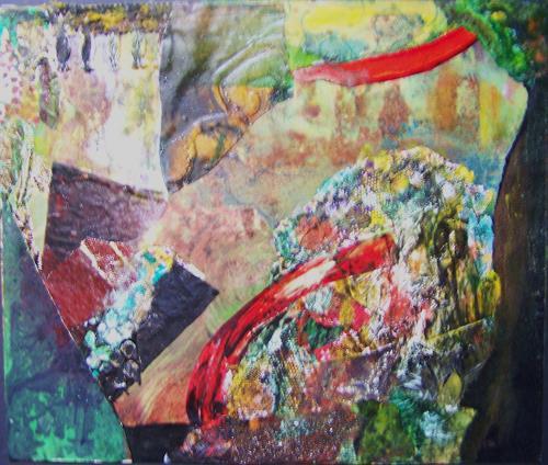 Michael Thomas Sachs, Fels - Landschaft, Abstraktes, Abstrakte Kunst