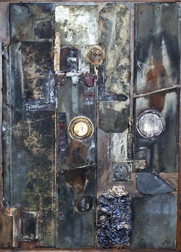 Michael Thomas Sachs, Komposition, Abstraktes, Fantasie, Abstrakte Kunst
