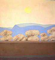Peter-Janssen-Landschaft-Berge-Neuzeit-Realismus