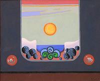 Peter-Janssen-Landschaft-Sommer-Moderne-Symbolismus