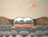 Peter-Janssen-Landschaft-Ebene-Landschaft-Herbst-Neuzeit-Realismus