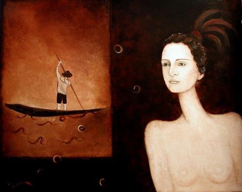 Branka Moser, ohne Titel, Menschen: Frau, Gegenwartskunst