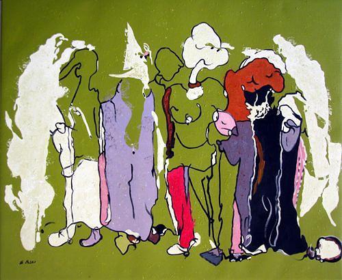 Branka Moser, ohne Titel, Abstraktes, Abstraktes, Gegenwartskunst