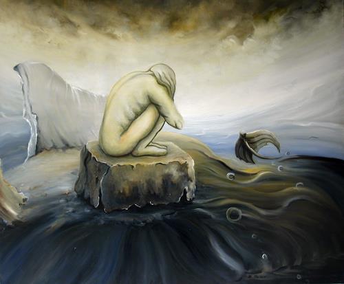 Branka Moser, ohne Titel, Symbol, Symbol, Symbolismus, Abstrakter Expressionismus