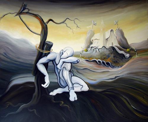 Branka Moser, ohne Titel, Diverses, Diverses, Symbolismus, Abstrakter Expressionismus