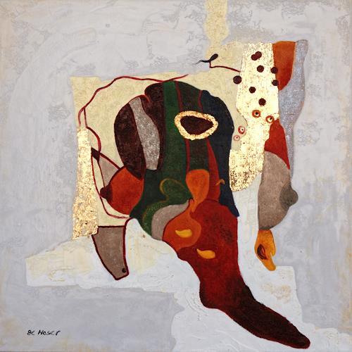 Branka Moser, ohne Titel 1213, Abstraktes, Mythologie, Gegenwartskunst, Expressionismus