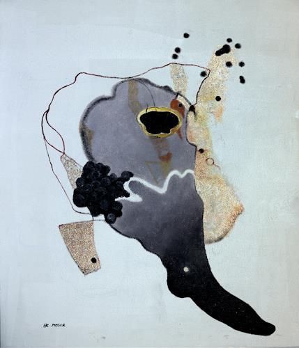 Branka Moser, ohne Titel, Abstraktes, Gegenwartskunst, Abstrakter Expressionismus