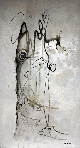 Branka Moser, ohne Titel, Gesellschaft, Abstraktes, Abstrakte Kunst